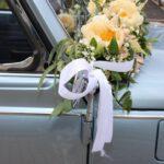 Fiori di Rose - trouwen auto corsage - 02 -2020