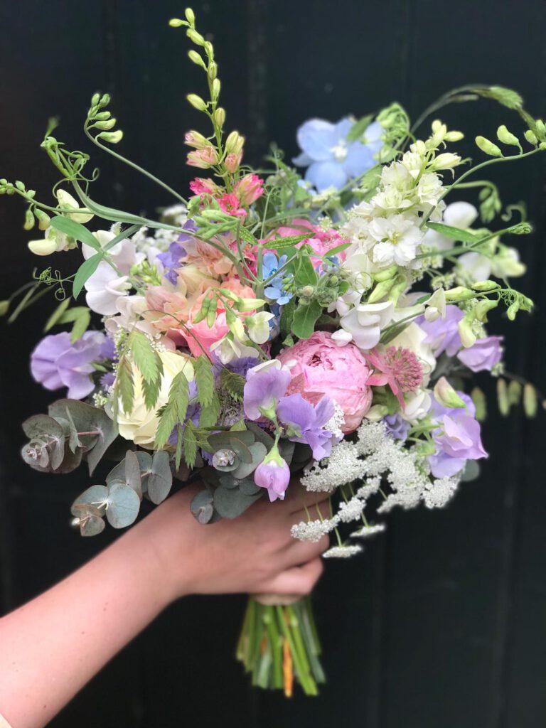 bruidsboeket fiori di rose 20197
